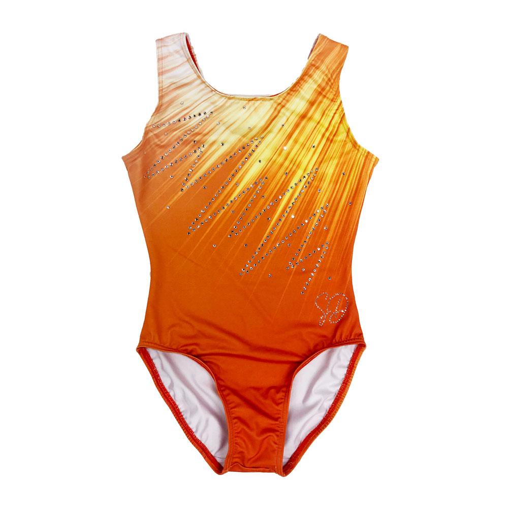 Turnpakje-Korte-Mouw-Jordyn-Oranje-LO-001O-Sparkle-&-Dream-1