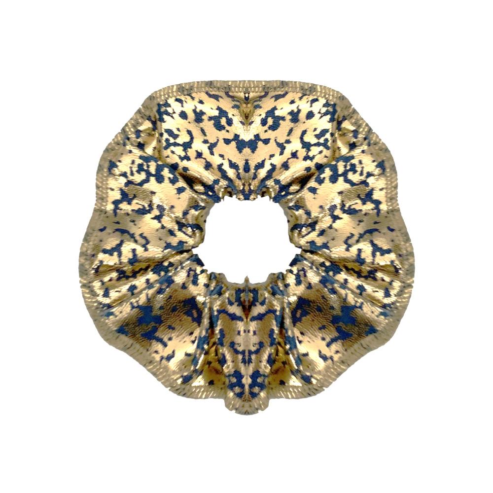 Scrunchie Froezel Gabby Mint Goud SCR-001MG Sparkle & Dream 1
