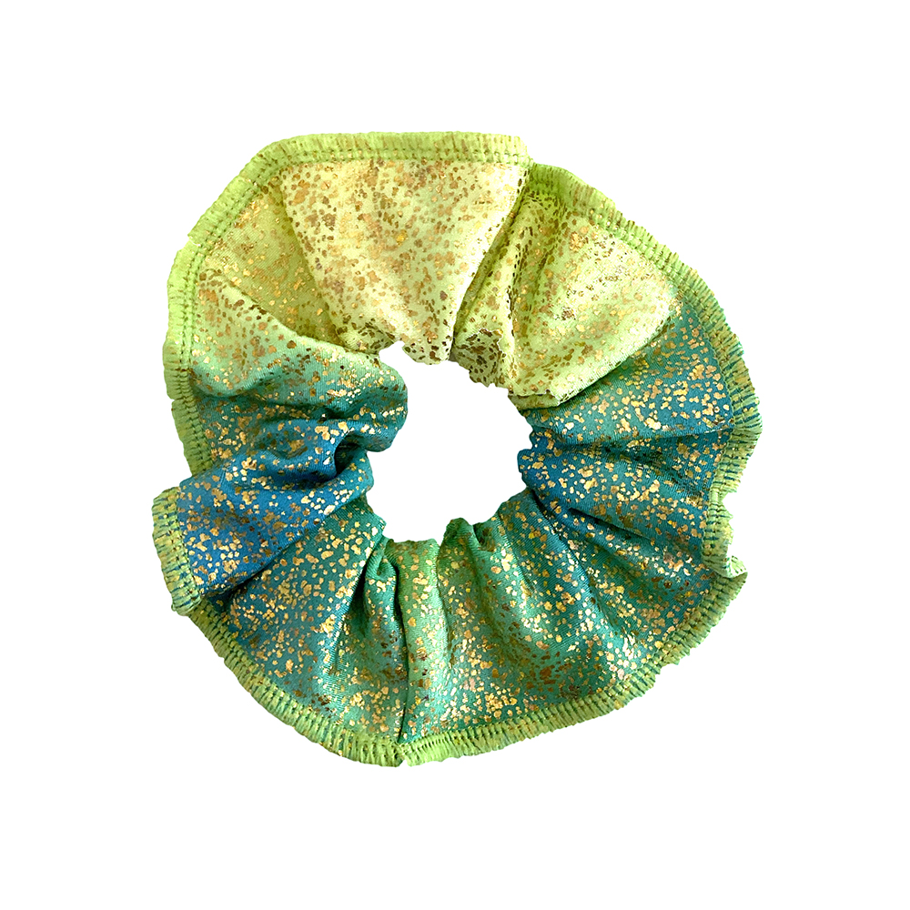 Scrunchie Froezel Morgan Groen Sparkle & Dream 1