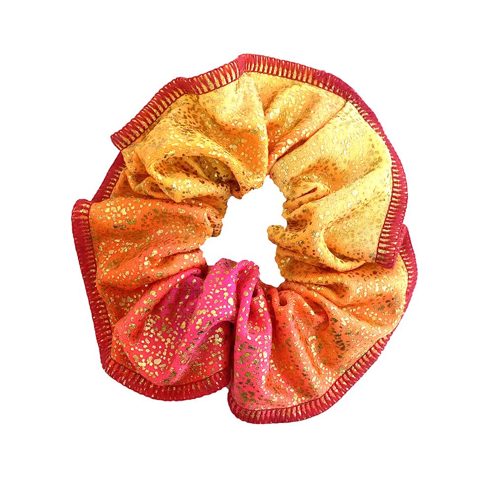 Scrunchie Froezel Morgan Roze Oranje Sparkle & Dream 1