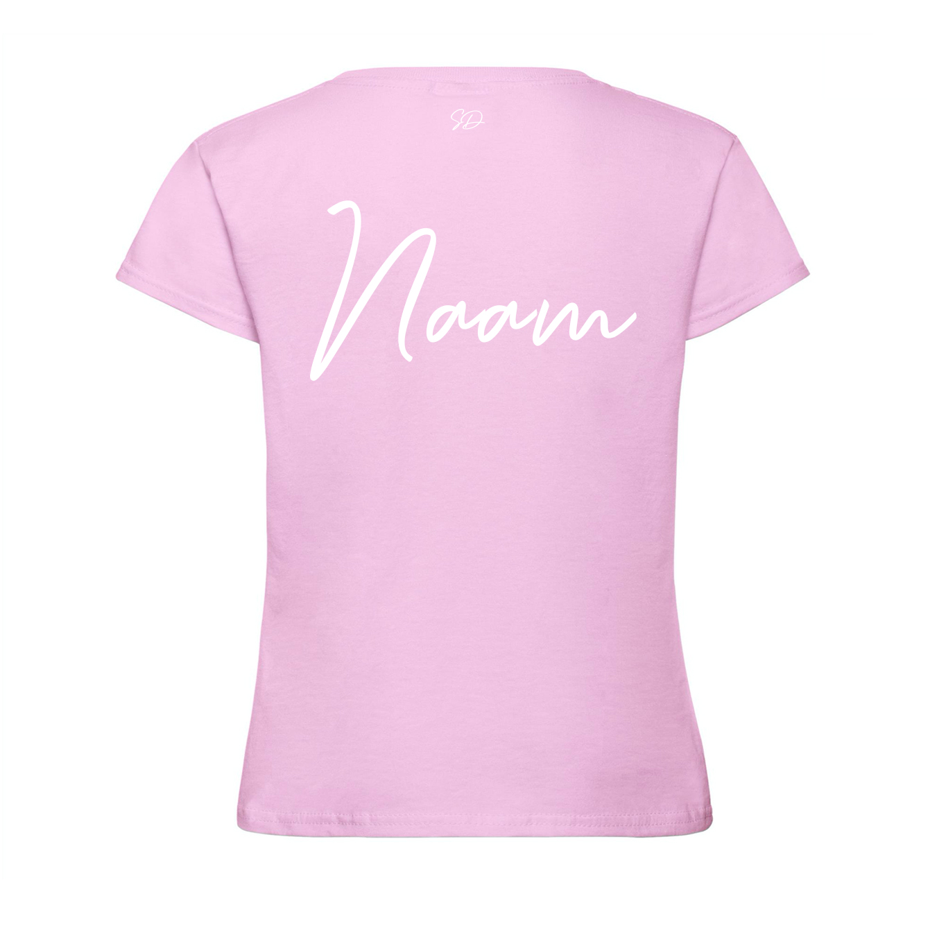 t-shirt-roze-back